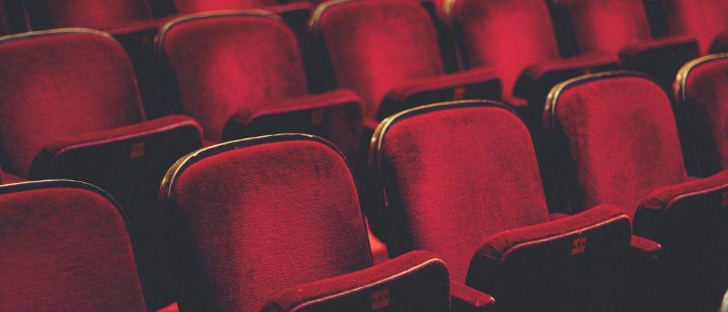 Red velvet cinema seats
