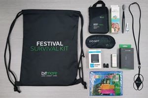 Bitmore Festival Survival Kit