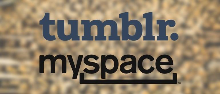 Tumblr MySpace