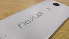 Back of a white Nexus 6