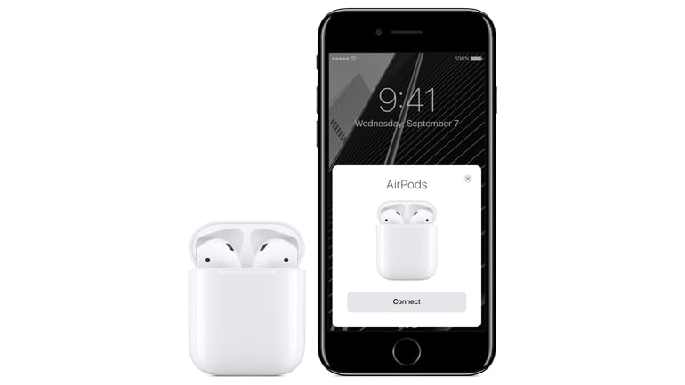 iPhone 7 and AirPods