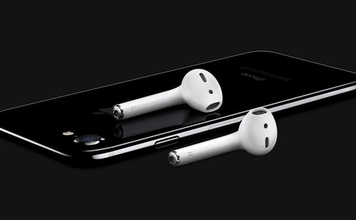 iPhone and AirPods
